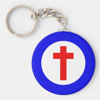 Christelijke Roundel Sleutelhanger