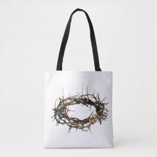 Christelijke witte de zakkroon van de gift van draagtas