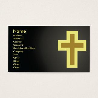 Christendom - Zaken Visitekaartjes