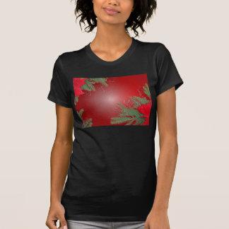 Christmas Poinsettia Red T-shirt