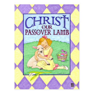 Christus het Inspirerend Briefkaart van Pasen van