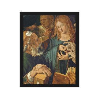Christus onder de Artsen c1506 Canvas Print