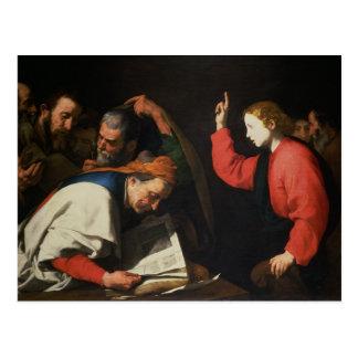Christus onder de Artsen, c.1630 Briefkaart