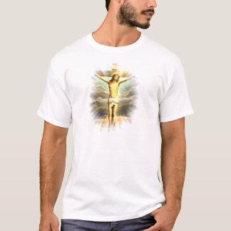 Christus op het kruis voor uw zonden t shirt