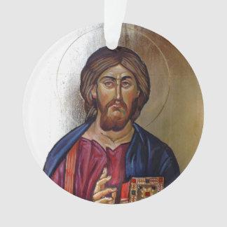 Christus Pantocrator en Heilige Mary Theotokos Ornament