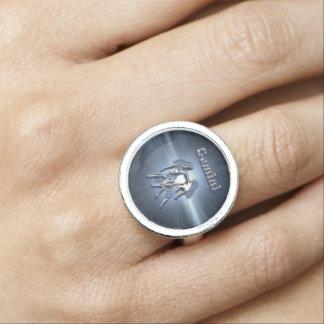 Chroom Tweeling Ringen