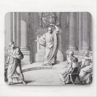 Cicero'n die Catiline aan de kaak stellen Muismat