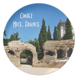 Cimiez Nice, Frankrijk Borden