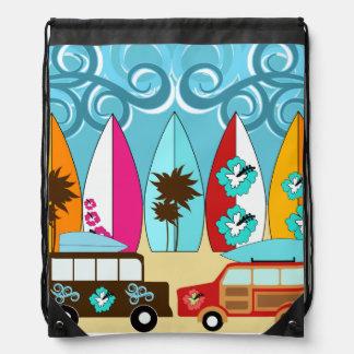 Cinch van de Bestelwagens van de Hippie van de Sur Rugzakje