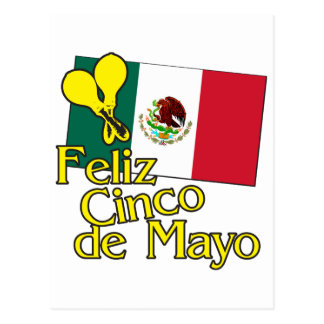 Cinco DE Flag Briefkaart