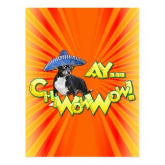 Cinco DE Mayo - Ay ChWowWow! - Chihuahua Briefkaart