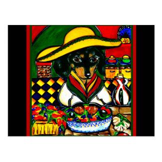 Cinco DE Mayo doxies Briefkaart