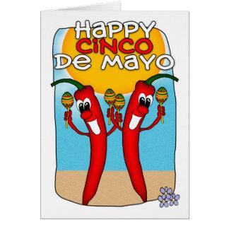 Cinco DE Mayo Kaart