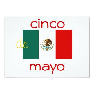 cinco DE Mayo uitnodiging