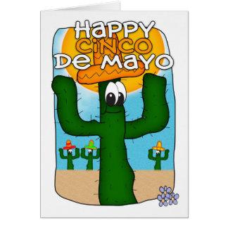 Cinco DE Mayo Wenskaart