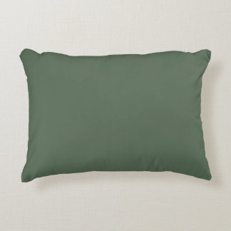 Cipres slechts groene schitterende stevige kleur accent kussen