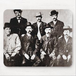Circa 1883 van de Vrede van de Stad van Dodge van Muismatten