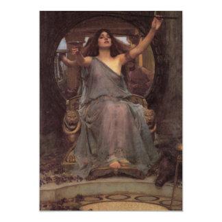 Circe die de Kop aanbieden aan Ulysses Kaart