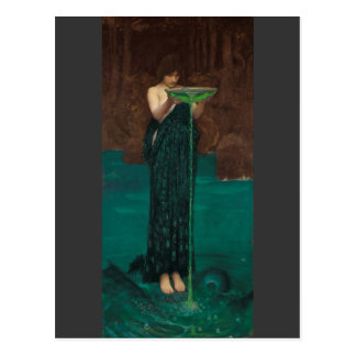 Circe Invidiosa door Waterhouse Briefkaart