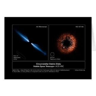 CircumstellarDebrisDisks-2004-33a Briefkaarten 0