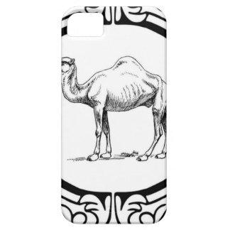 cirkel van de kameel barely there iPhone 5 hoesje