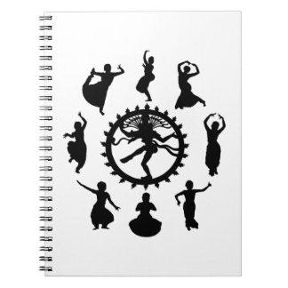 Cirkel van Indische Dans Notitieboek