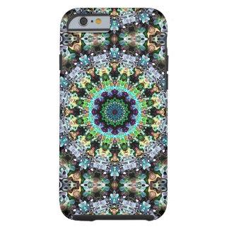 Cirkel van Kleurrijke Symmetrie Tough iPhone 6 Hoesje