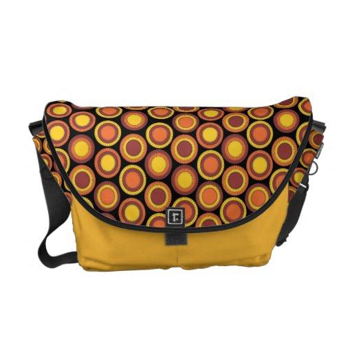 Cirkels van de Tint van de Herfst van PennyCircle  Messenger Bag