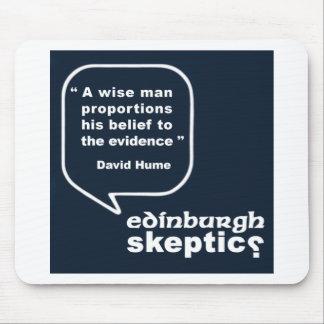 Citaat Edinburgh Skeptics - Hume Muismat