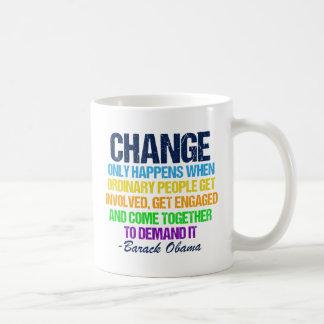 Citaat van de Toespraak van Obama het Afscheids Koffiemok