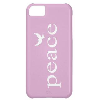 Citaat van de Vrede van de lavendel het iPhone 5C Hoesje