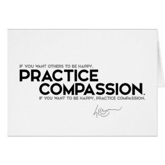 CITEERT: Dalai Lama - het medeleven van de Briefkaarten 0