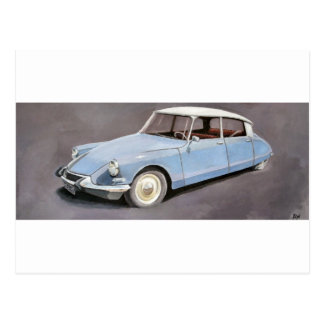 Citroën DS Briefkaart