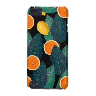 citroenen en sinaasappelszwarte iPod touch 5G hoesje