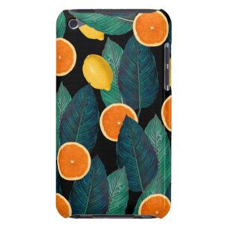 citroenen en sinaasappelszwarte iPod touch hoesje