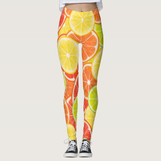 Citrusvruchten Leggings