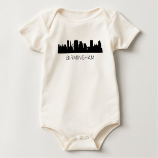 Cityscape van Birmingham Engeland Baby Shirt