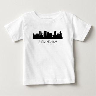 Cityscape van Birmingham Engeland Baby T Shirts