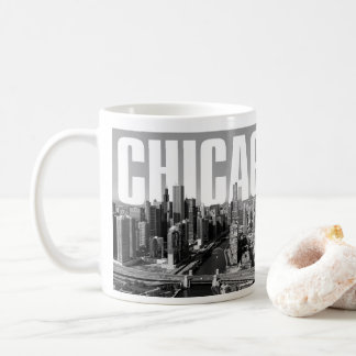 Cityscape van Chicago Koffiemok