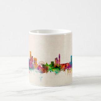 Cityscape van de Horizon van Birmingham Engeland Koffiemok