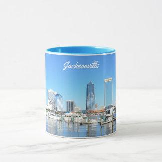 Cityscape van Jacksonville, Florida Mok