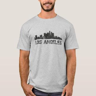 Cityscape van Los Angeles Horizon T Shirt