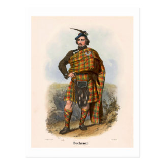Clan Buchanan Briefkaart