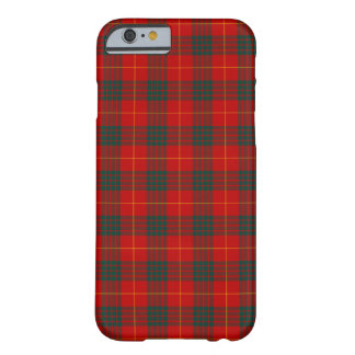 Clan Cameron Bright Red en Groen Geruite Schotse Barely There iPhone 6 Hoesje