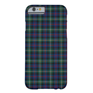 Clan Malcolm Dark-blue en Groen Geruite Schotse Barely There iPhone 6 Hoesje