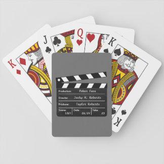 Clapperboard voor uw Scènes van Speelkaarten