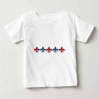Classic Fleur DE Lis Baby T Shirts