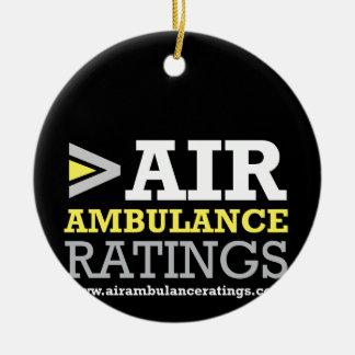 Classificaties van de Ziekenwagen van de lucht de Rond Keramisch Ornament