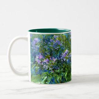 Claude Monet: Agapanthus Tweekleurige Koffiemok