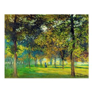 Claude Monet: Allee Du Champ DE Foire Briefkaart